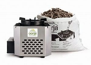 Oorja Stove and fuel