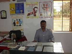 The MO in consultation Room