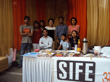 """""""Food Project"""" initiated by the IITD students associated with SIFE has enabled Indians to get a taste of Burmese cuisine"""