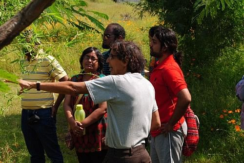 Dr Ram Kataria is always keen to meet visitors to the farm and share his story. He is currently also investing much energy into building a rural university to motivate changemakers.