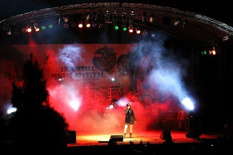 The Rock Shows at Kohima kept the night alive