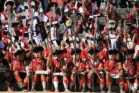 The riot of colour that was the Hornbill Festival!