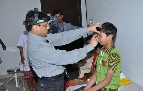 Surgeries to prevent blindness are carried out