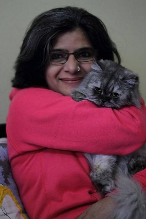 Rehana has opened a 'Cat Pet Therapy Centre' in Bangalore with her 14 Persian cats