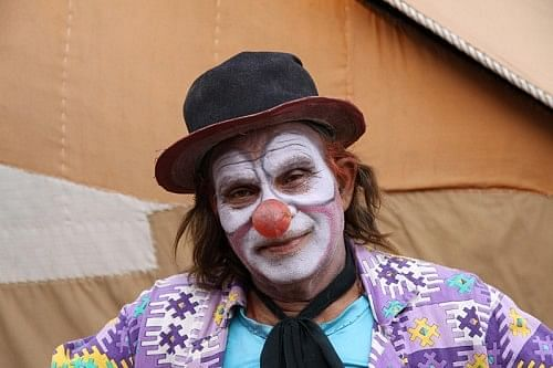 Sagar Singh, the superclown - the inspiration behind Mera Naam Joker, but without the credits!