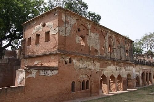 There's a living monument in the very heart of Lucknow. It's the ruins of the Residency, where one of the fiercest and the most dramatic of our freedom struggles was fought. It was India's very first War of Independence, and the year was 1857.