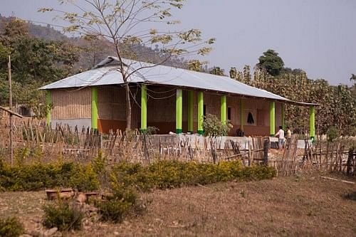 And here is the completed school building!