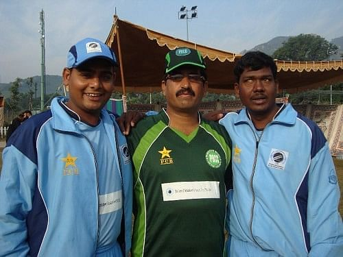 There is great camaraderie between the Indian and Pakistani Blind Cricket teams but it still gave them great satisfaction to beat the Pakistani team in the World Cup Finals!