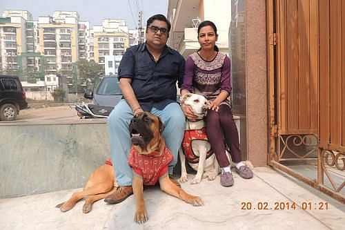 AjayDeep Singh and Samita Sharma are not just married to each other but also to their heartfelt cause of saving dogs and giving them a new life.