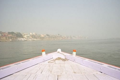 That's the city by the ghats of Varuna and Asi.