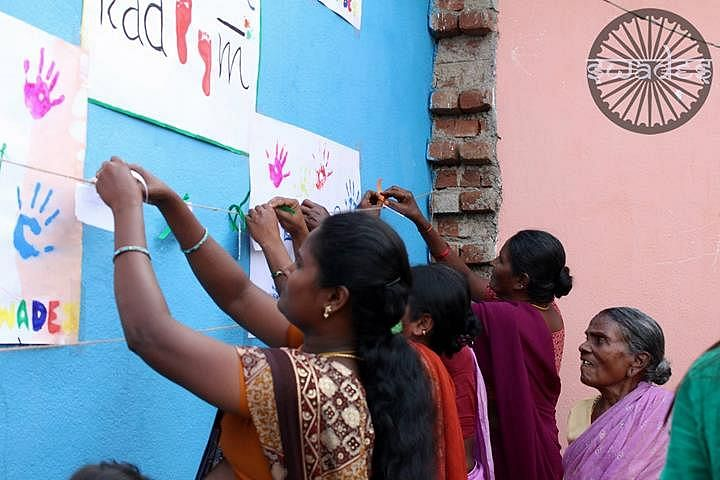 MAKE A WISH - An initiative to help the women bring their hopes out, to help them realise that they have their lives to live too!