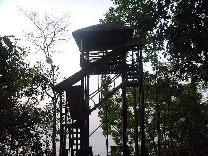 Forest Watch Tower at Pilibhit.