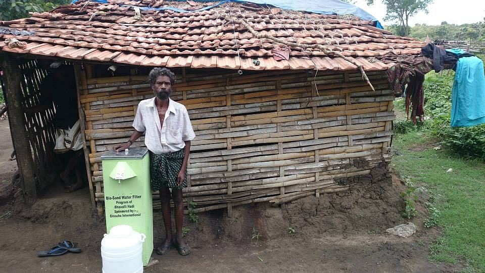The bio sand filter is being effectively used in various tribal areas.