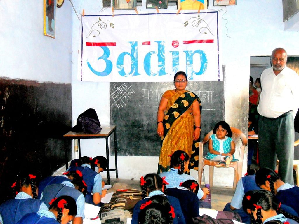 sustainable change in the lives of underprivileged children, youth, women, differently abled people and environment.