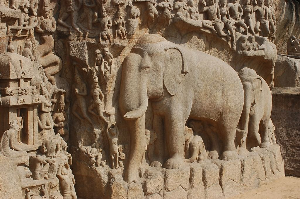 The world's largest bas-relief sculpture