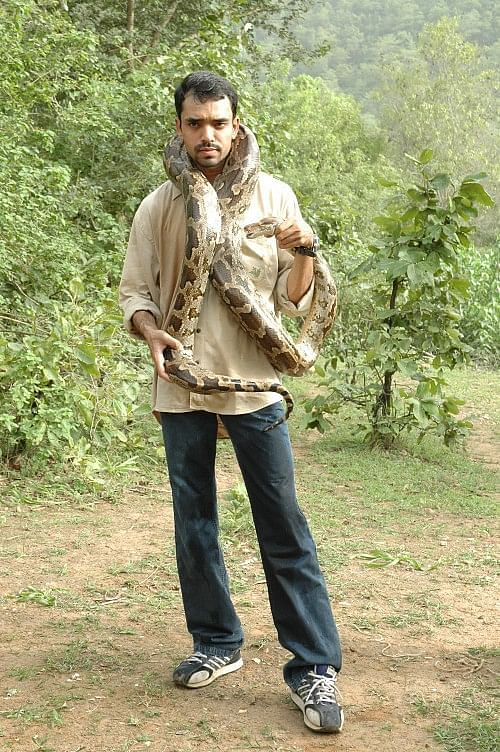 Sanjeev Gohil would bunk his maths classes in school to explore the nearby forest.
