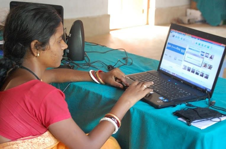 The villagers film, edit and screen the videos themselves.