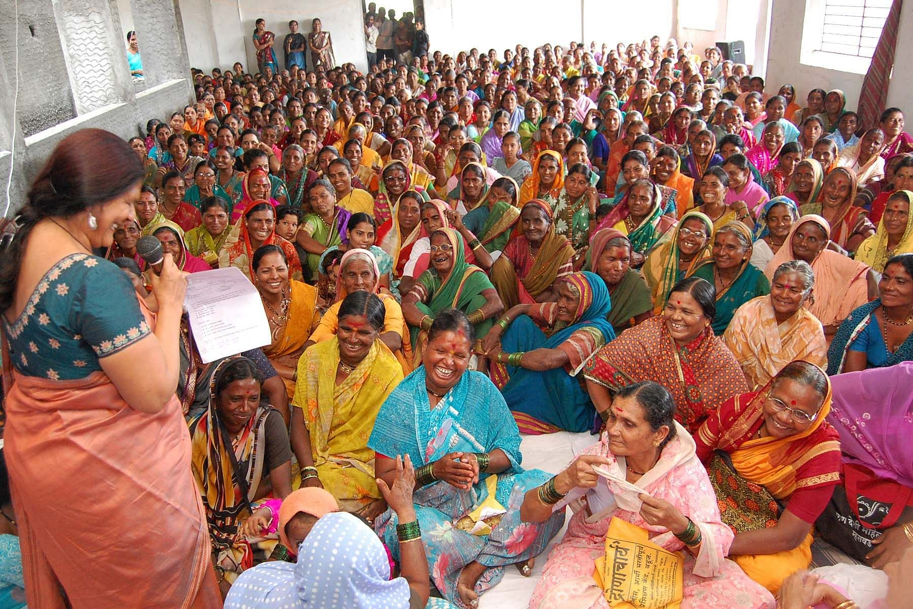 The bank has eight branches now which reach out to over 200,000 women.