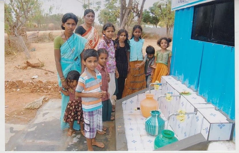 Over 75,00,000 villagers have benefited from water ATMs.