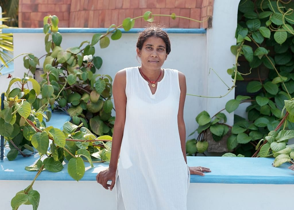 Uma Prajapati, designer of Tsunamika doll came up with the idea while she was working with children affected by the Tsunami.