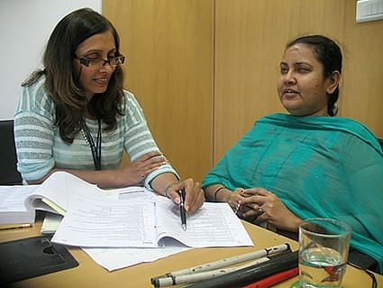 Nivedita Desai (left) wanted to do something substantial for the community hence she founded ACT.