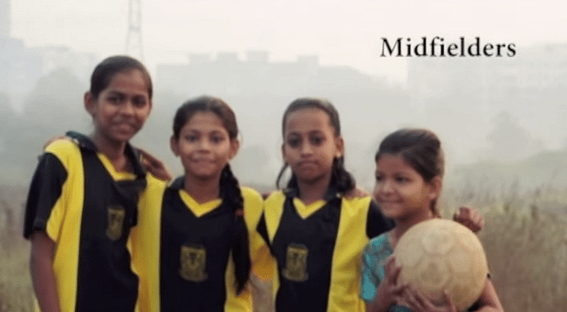 Girls as well as boys are encouraged equally to participate.