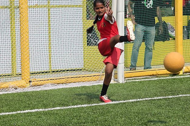 Football also gives students an opportunity to express themselves.