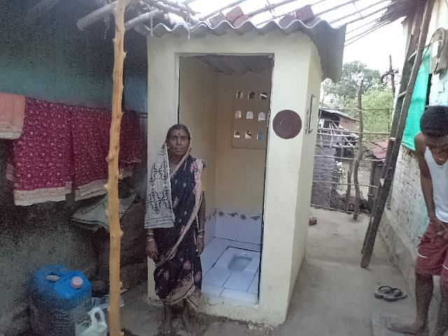Thanks to Reesa's efforts, villagers now know the importance of toilets.