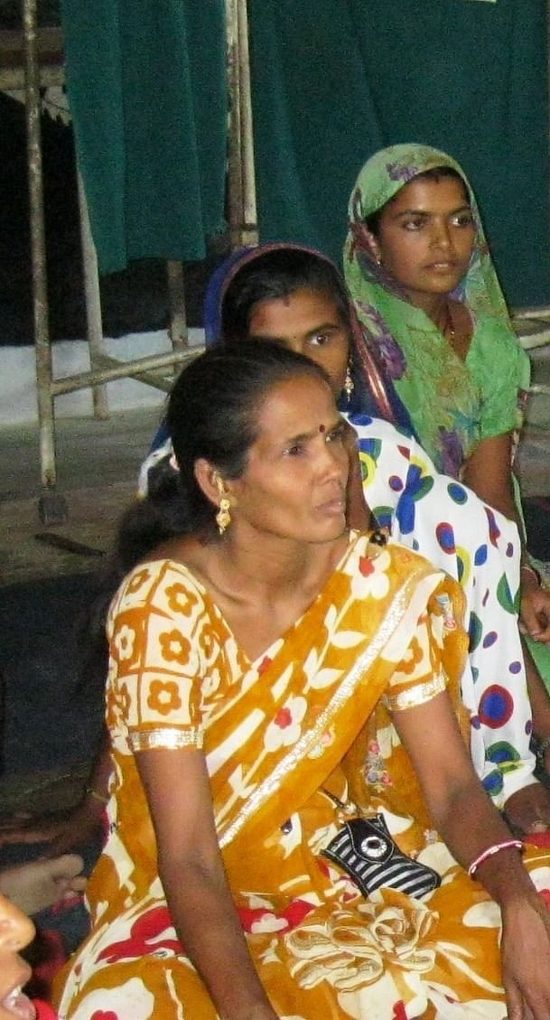 Suman Jain, the Accredited Social Health Activist (ASHA) of Bheru Singhji ka Kheda village is a VHSNC member and one of the authorised signatories to the untied fund account. She encourages people to participate in the VHSNC meetings. (Credit: Annapurna Jha\WFS)