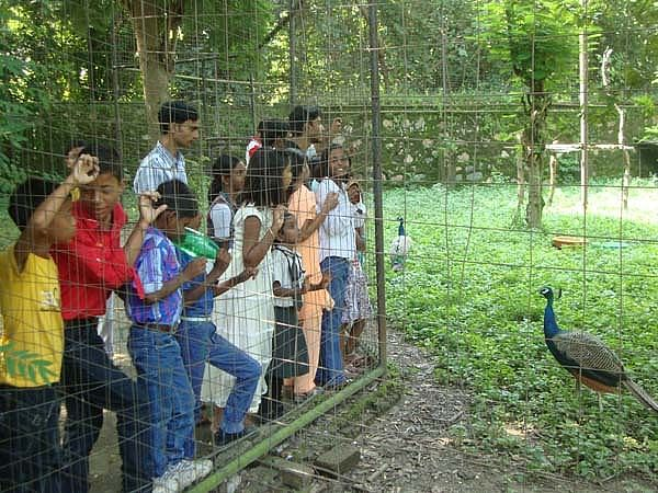Students are also taken on various exposure visits.