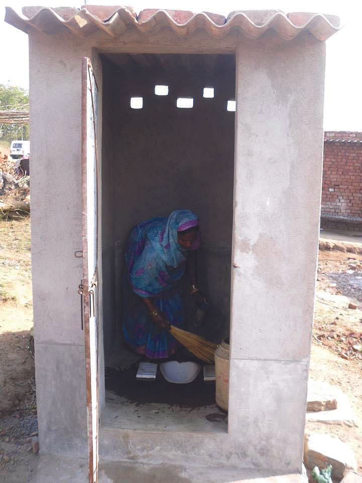 Realizing the perils of defecating in the open, women in several villages in India are launching movements to make their village open defecation free.