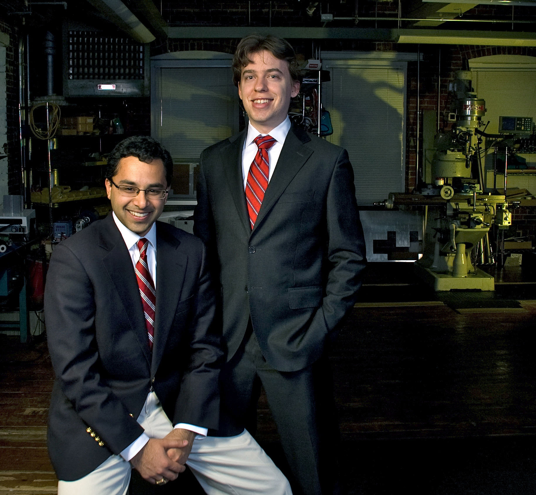 Founders of Levant Power:  Left Shakeel Avadhvany, Right Zack Anderson. Photo credit: Levant Power.