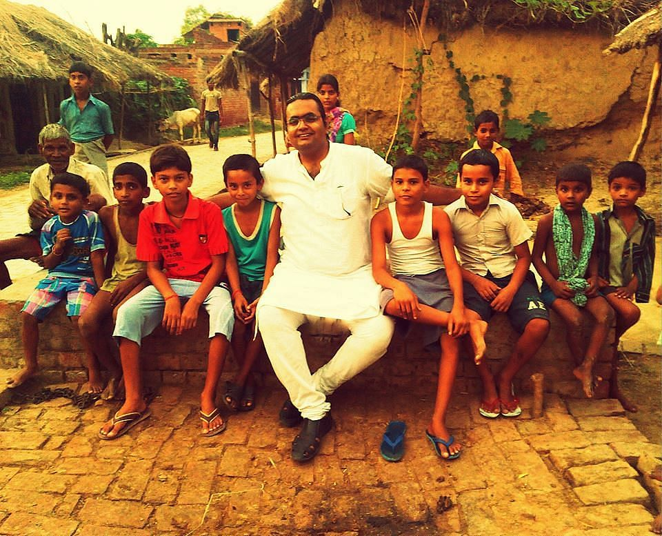 Swapnil Tewari has reached out to tribal communities and has been working for their betterment.