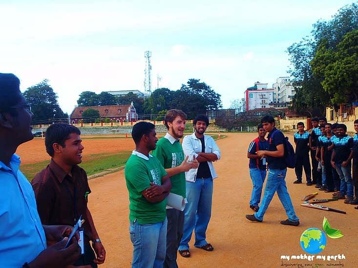 Manjunath is trying to bring the community together for his cause.