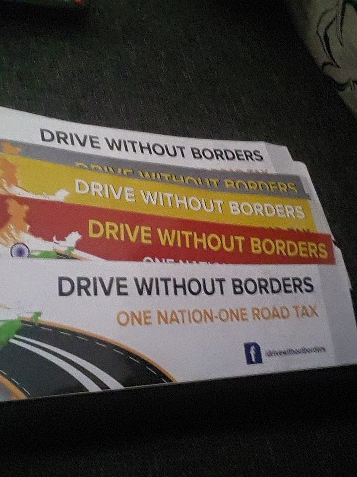 The group raises funds through various stickers and campaigns.