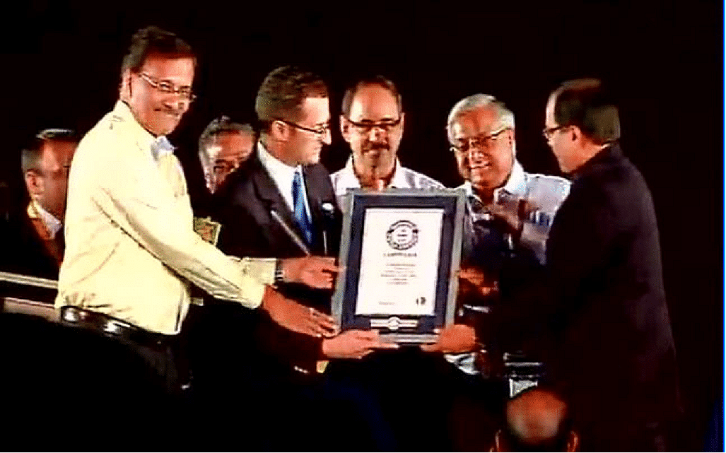 MINISTRY OF AYUSH AWARDED 2 GUINNESS WORLD RECORD TITLES ON INTERNATIONAL YOGA DAY FOR PARTICIPATION AT RAJPATH