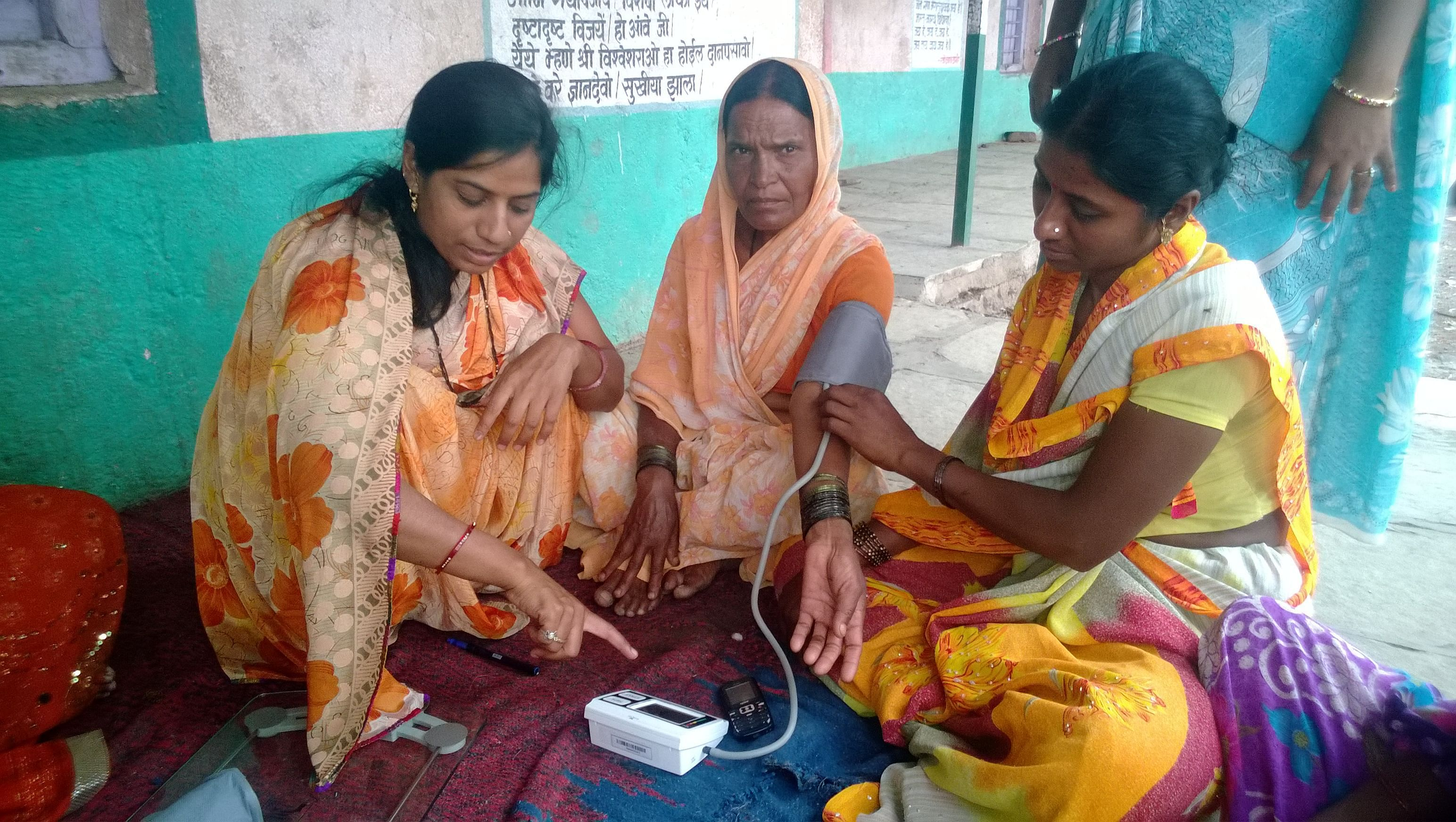 The project has not only enabled rural women get access to better health at door step but also empowered them to become self dependent.