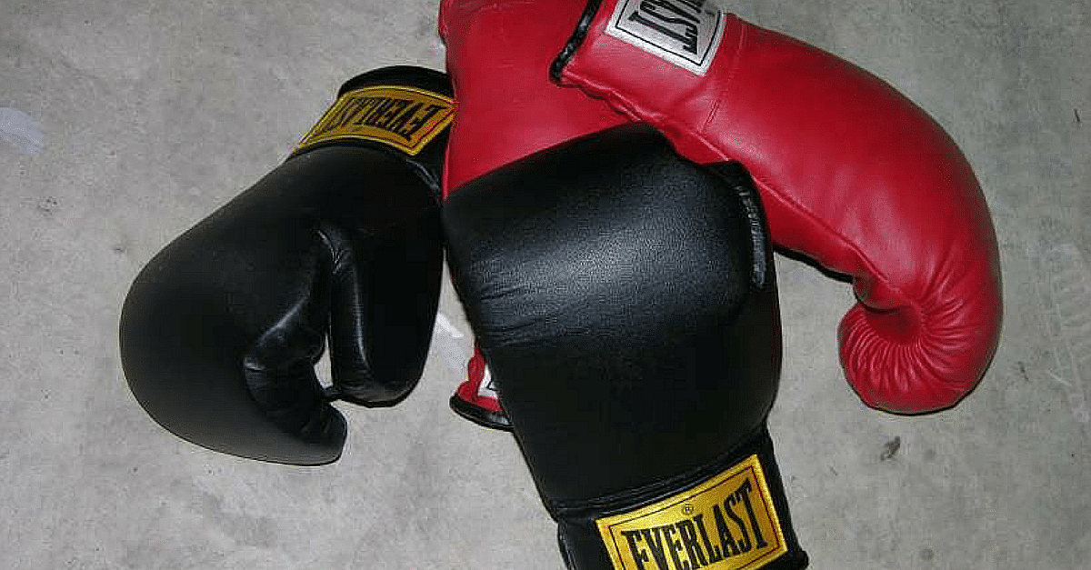 """""""Boxing gloves"""" by en:User:Andman8 - English wikipedia, en:Image:Boxinggloves.jpg. Licensed under CC BY 2.5 via Wikimedia Commons"""