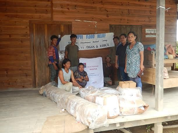From food packets to medicines and blankets, any help is good for the flood affected people.
