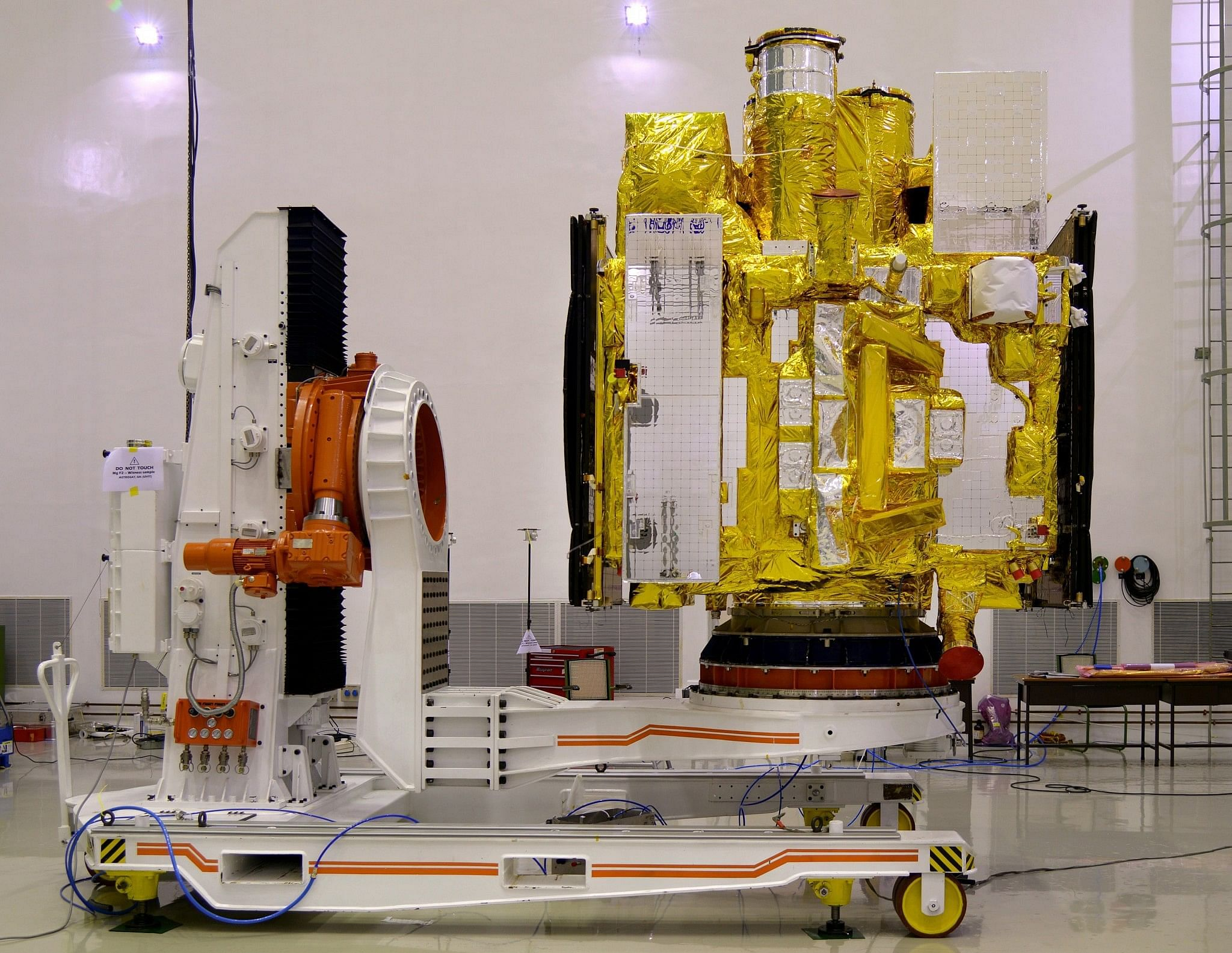 ASTROSAT in clean room before its integration with PSLV-C30