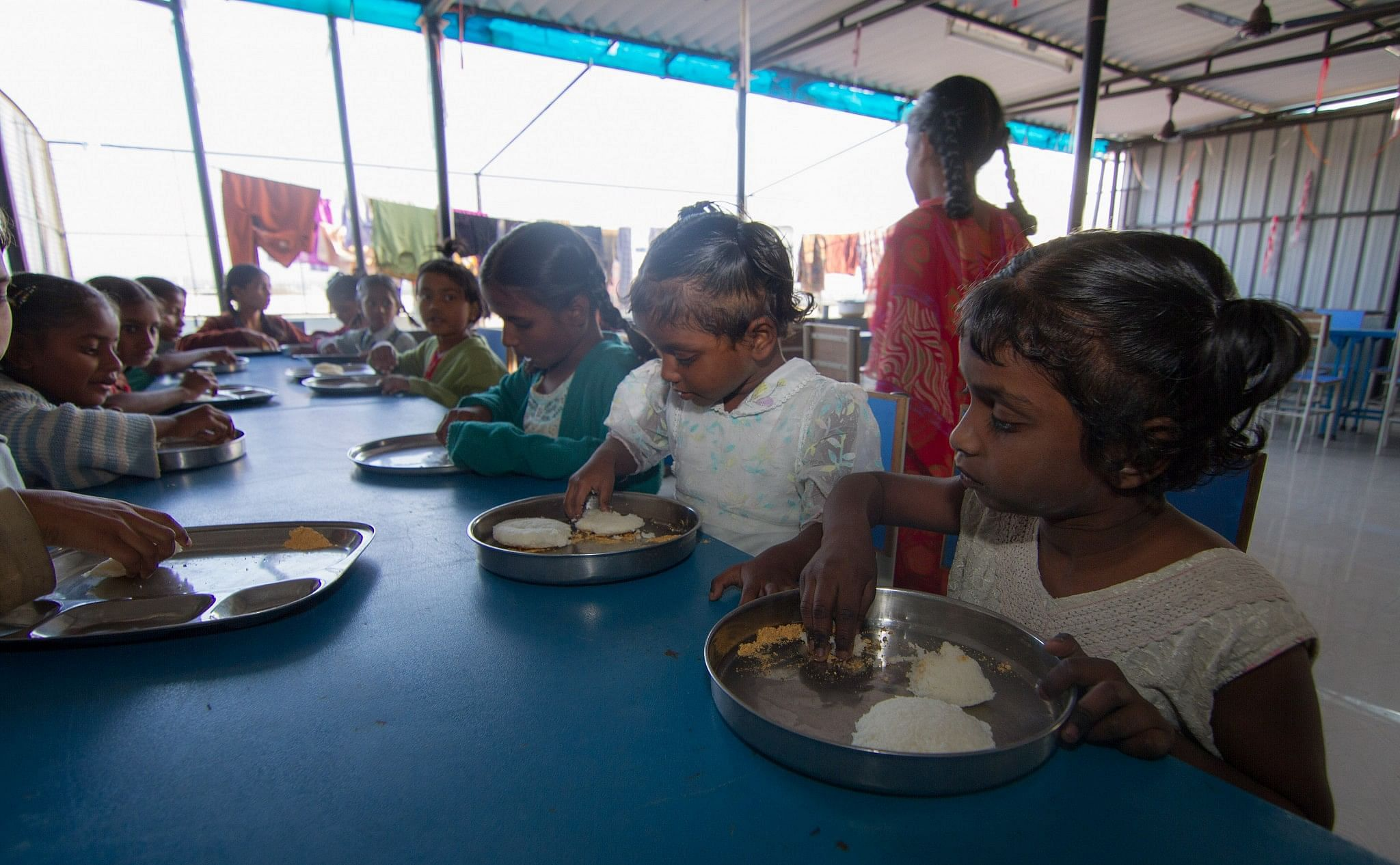 From good food to healthy living, Spandana leaves no stone unturned to improve the lives of these kids.