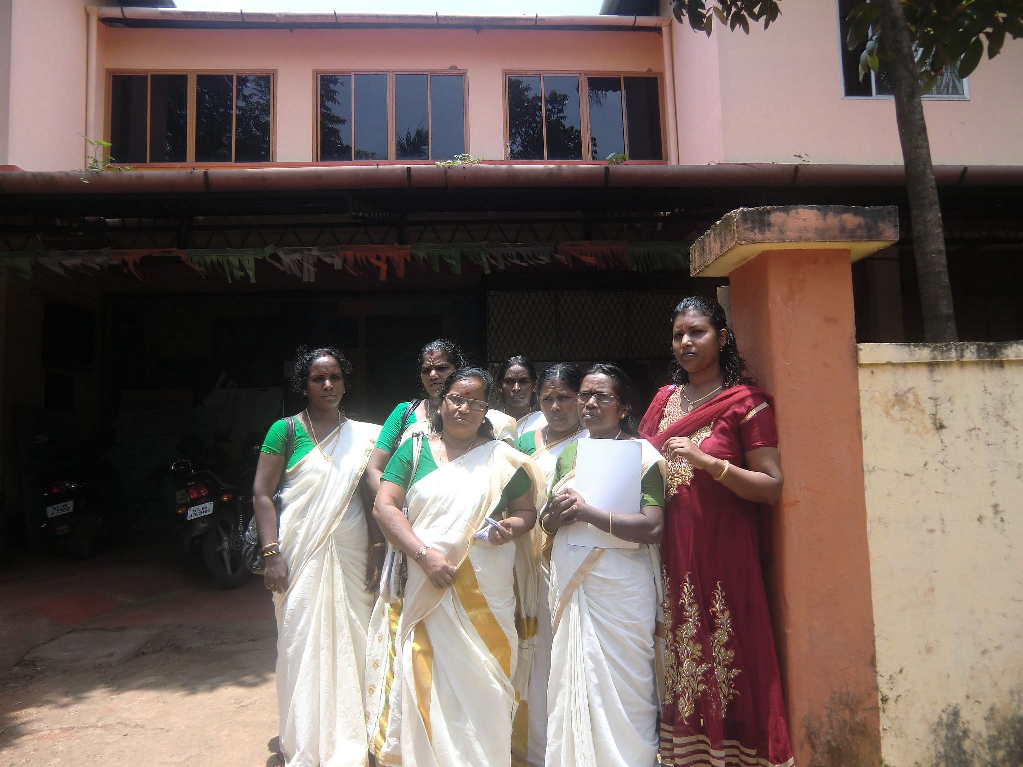 The feisty women members of grassroots groups like the Kerala Pulayar Maha Sabha (KPMS) or the OBC Ezahva organisation and the Sree Narayana Dharma Paripalana (SNDP) in Kerala are successfully setting the community development agenda for their local self government bodies. (Credit: Ajitha Menon\WFS)