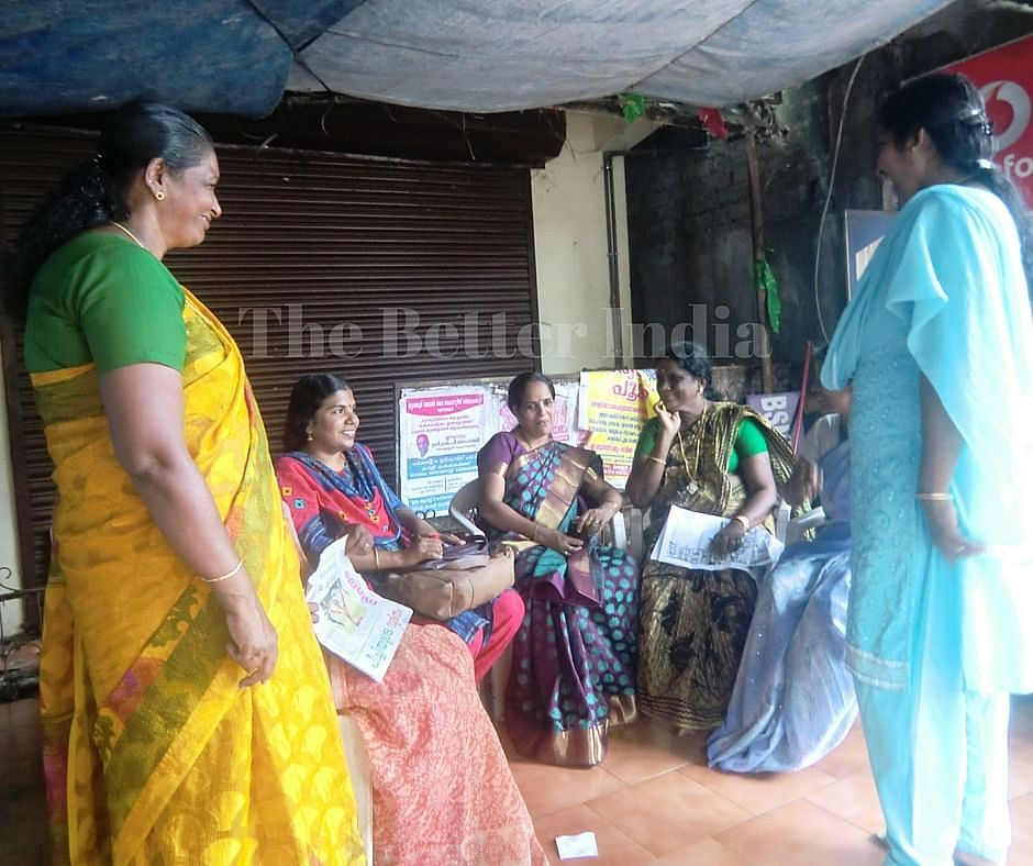 Bindu Shivadasan makes it a point to meet up with women of various Kudumbashree groups in her area to get a low down of the ground realities so that she can provide effective governance. (Credit: Ajitha Menon\WFS)