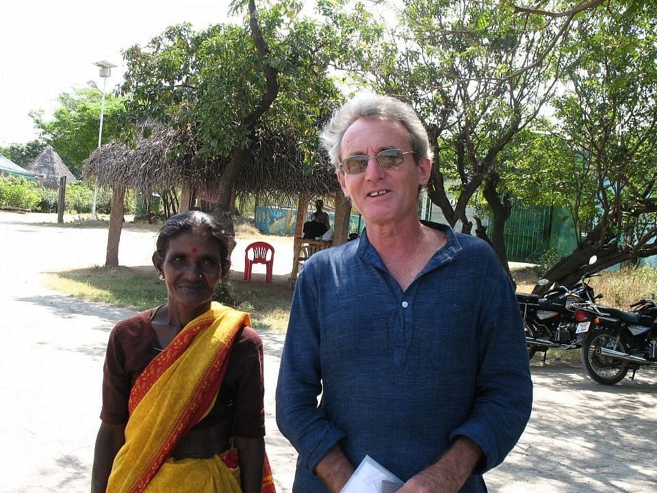 Joss Brooks, with the help of local residents, is bringing Auroville's sustainability pracitices to Adyar Poonga in Chennai