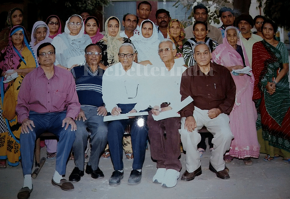 Naginbhai Shah donation for patients