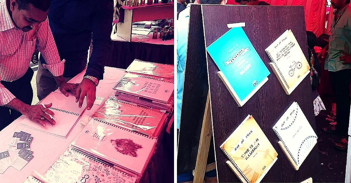 At the Open Street event at MG Road, Bengaluru, earlier in February, they sold out all their books.