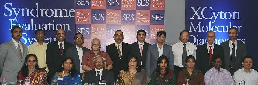 The team of scientists at the launch of the innovative technology that is saving lives of newborn babies