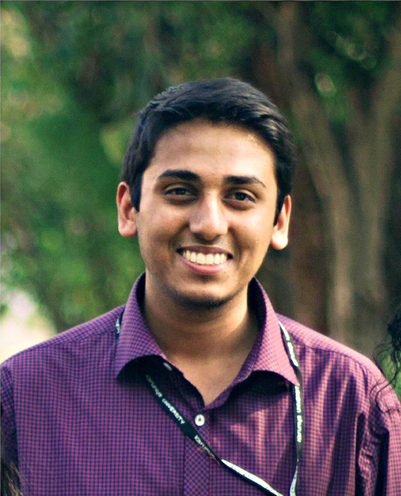 Harshil Mittal, Founder of Let's Feed Bengaluru