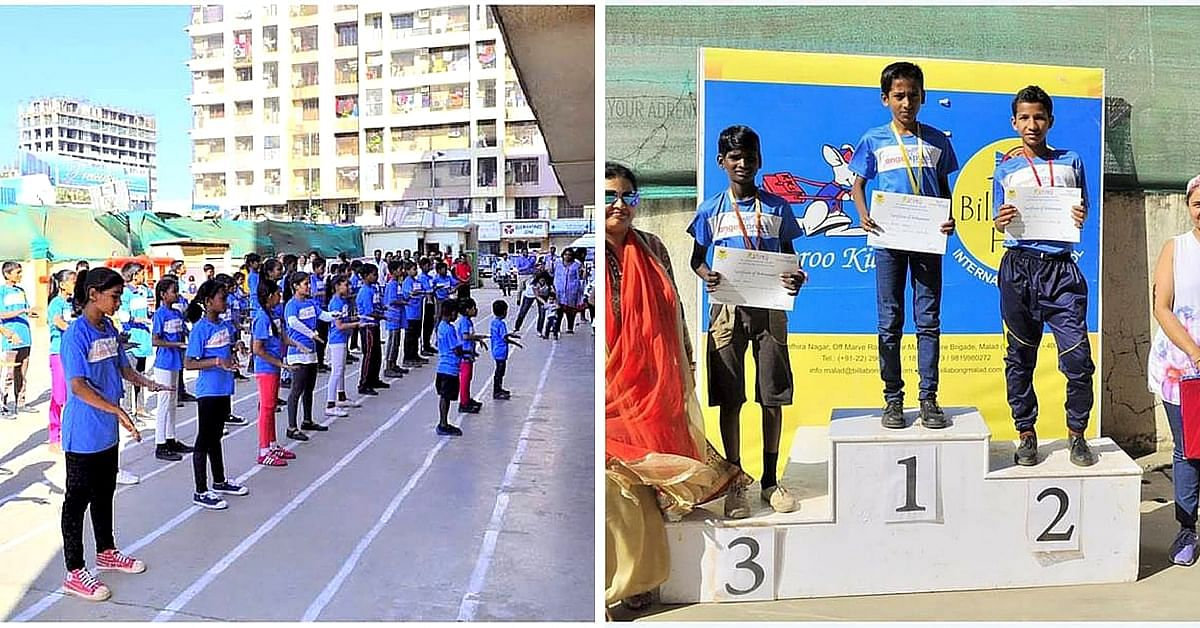 Billabong High School, Malad, organised a sports day and various activities like zumba for the kids.