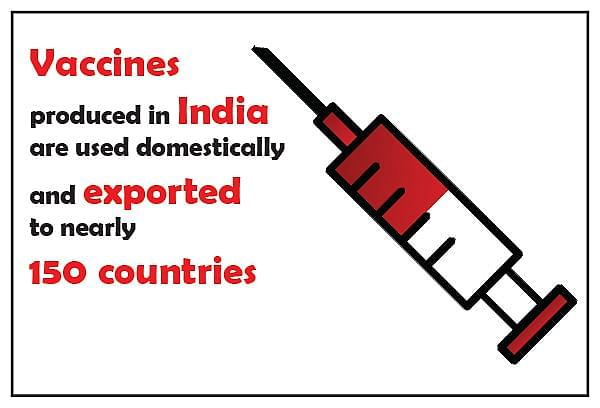 India is one of the biggest suppliers of low cost vaccines in the world